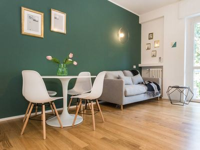 Photo for Lotto House apartment in Fiera with WiFi, air conditioning & lift.