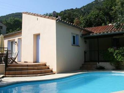Photo for Between sea and mountains, private pool, villa full foot