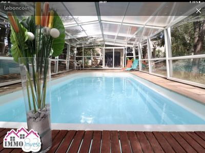 Photo for Large villa with heated indoor pool
