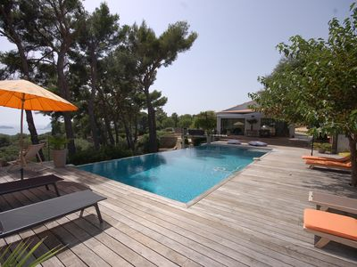 Photo for Luxury House / Villa with sea view in South of france - CEYRESTE