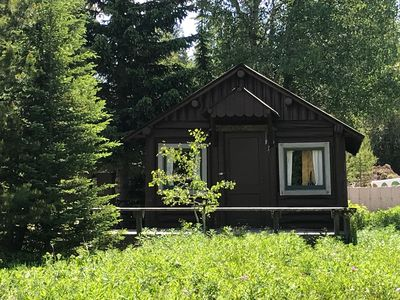 Photo for Charming Log Cabin only 7 miles from West Yellowstone