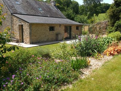 Photo for 1BR Apartment Vacation Rental in Guern, Bretagne