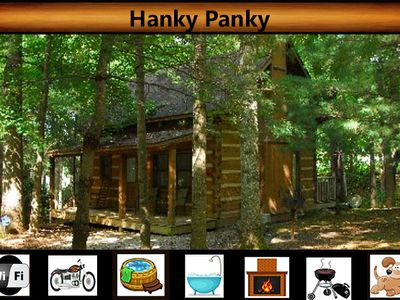 Photo for Hanky Panky - Creek Views \  Hot Tub \ Pet Friendly \ Fireplace \ Wifi
