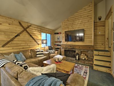 Photo for Beautiful Keystone Log Cabin Inspired Condo Under a Mile from Slopes!