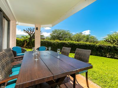 Photo for New Listing! Beautiful Garden Views! Private Quiet Oasis Kihei Ali'i Kai D104