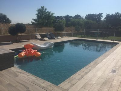 Photo for Country house 4 bedrooms, parking, swimming pool