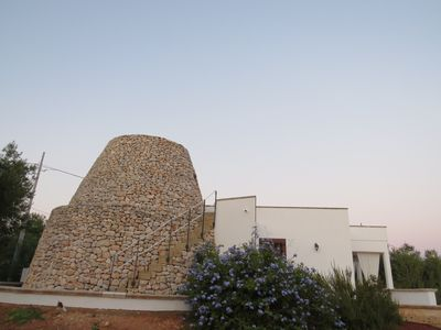 Photo for Villa with sea view pajara surrounded by ancient olive trees