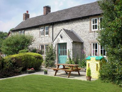 Photo for ORCHARD VIEW, pet friendly, with open fire in Parwich, Ref 2244