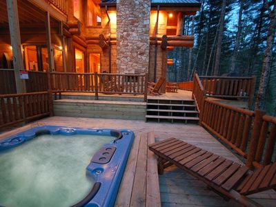 Photo for Wren's Nest-Watershed Cabins-Large Deck