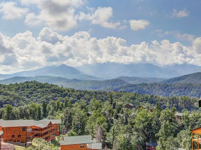 Photo for BRAND NEW, HOME THEATER MOUNTAIN VIEWS AND JUST MINUTES TO GATLINBURG...WHAT ELSE COULD YOU ASK FOR!