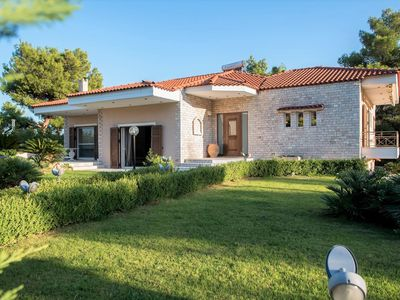 Photo for Villa BELLEZZA with a large yard and BBQ.