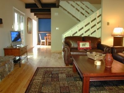 Photo for Fabulous Vail Townhome - Steps from the free Town of Vail bus