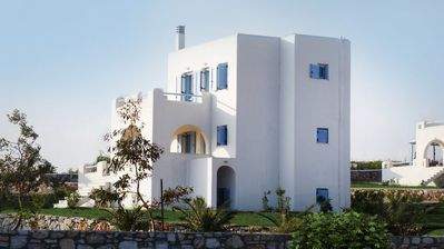 Photo for Luxury villa withpanoramic view of the Aegean Sea and unforgettable moments of relaxation