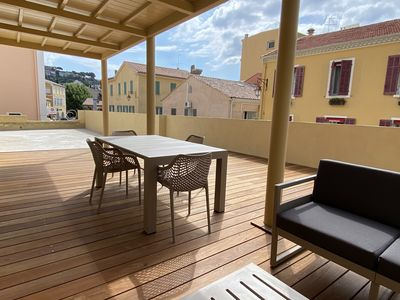 Photo for 3 room apartment with terrace in the heart of town