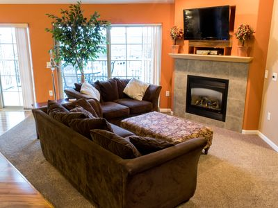 Photo for Beautiful 3 Bedroom Condo, Summer bookings include up to 8 Noah's Ark passes