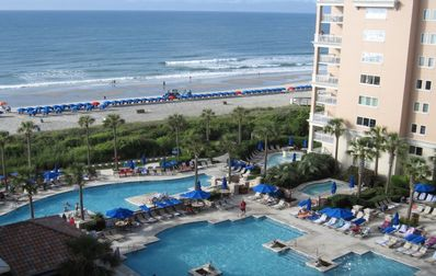 Photo for Family Friendly Oceanfront Villa in gorgeous Myrtle Beach resort !