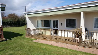 Photo for 'AMANECER' - Modern two-bedroomed chalet located on Rainbows End Park, Bacton.