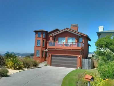 Photo for Private Oceanfront Home with 180 Degree View of Half Moon Bay