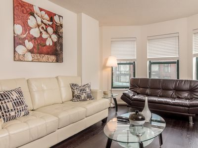 Photo for Equipped Apartment Near the White House | Pool + Gym Access