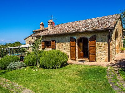 Photo for House in San Gimignano with Internet, Pool, Air conditioning, Parking (36001)
