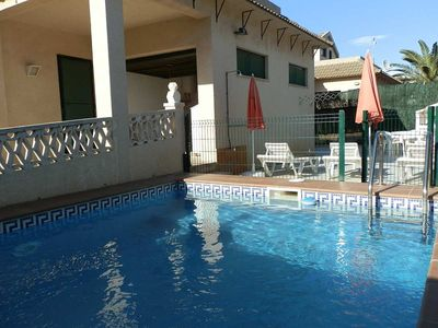 Photo for CASA SARA,Ideal house for your holidays near the sea, free wifi, air conditioning, private pool, pets allowed, dog's beach.