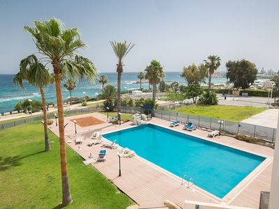 Photo for Apt. Tayla, Luxury 3BDR  Protaras Apt. with Communal Pool on Fig Tree Bay Beach