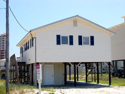 Photo for Happy Clam: Comfortable pet friendly home just 2 short blocks to the beach