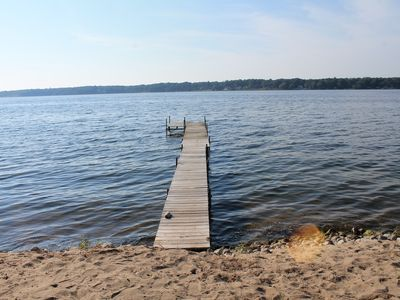 Photo for White Lake Cottage With Private Frontage & Dock, Near Lake Michigan