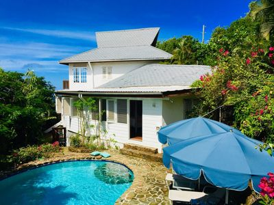 Photo for Hummingbird Villa - 3 bedroom villa with swimming pool and sea views in St Lucia