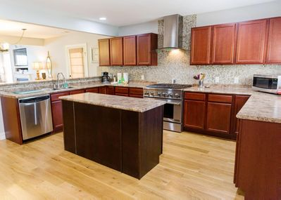 Wonderful, gourmet kitchen with all of the amenities