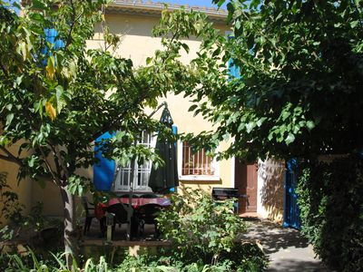 Photo for Provencal 19th Century residence 5 min walk from the beaches and all shopping