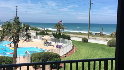 Photo for Flagler Beach Condo - Newly Redecorated - Pet Friendly - Ocean View from LR & MB