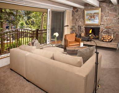 Photo for Stunning Condo with Peaceful Views of Gore Creek, Sleeps 4!