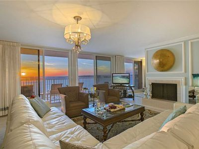 Photo for Waterview Towers 603 - Gulf Front Penthouse, Private Balcony, Community Pool!