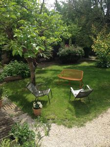Photo for Charming apartment in Aix center, with terrace and garden