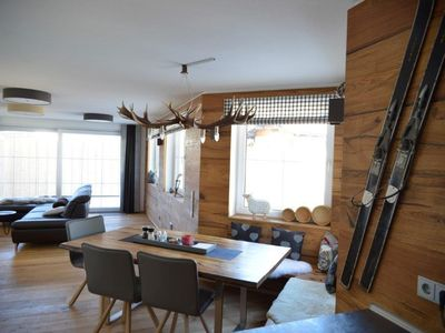 Photo for Excl. DHH, 3 bedrooms, 3 bathrooms, sauna, balcony / terrace Süds, mountain lift incl.
