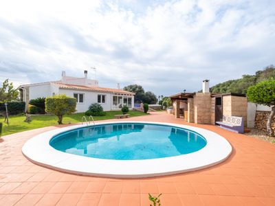 Photo for Large villa with pool and close to the beaches, Ciutadella, Minorca