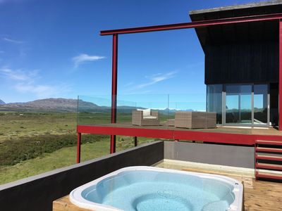 Photo for Sólfaxi Modern Luxury Villa, Amazing Panorama View, on the Golden Circle.