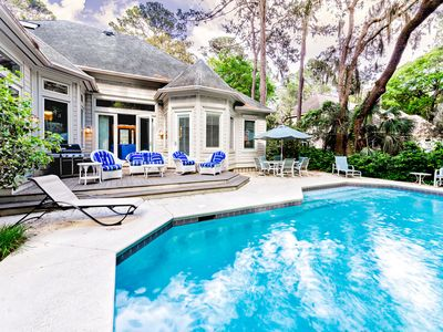 Breathtaking Hilton Head Vacation Home in Sea Pines w/ Private Pool!