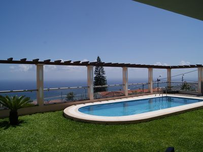 Photo for Villa Longueira - Magnificent villa overlooking the bay of Funchal