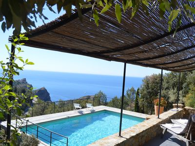 Photo for closed to Cassis, panoramic sea view for this beautiful villa of 250 m2