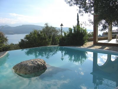 Photo for Villa Lygia - Fabulous Traditional Style Air Conditioned Villa with Private Pool and Spectacular Views All Around, Idyllic Location ! FREE WiFi