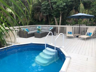 Photo for Six Blocks Ocean and Two to.Atlantic. Renovated 3 Bdrm Pool/Spa home.