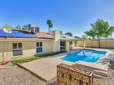 Photo for NEW LISTING! Trendy remodeled home w/mountain view & private pool, hiking nearby