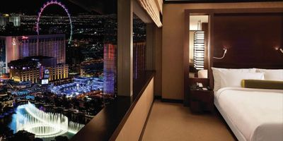 NEW LOW RATES! Luxury Condo W/ Belagio Fountain View Inside Vdara At City Center