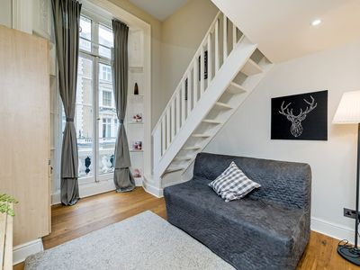 Photo for 12 / 43 Split level Studio Flat with Lovely Balcony