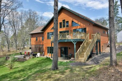 Gorgeous 3br/2ba, 2200 square foot cabin on the Minong Flowage!