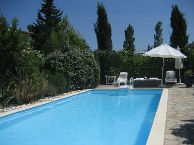Photo for Spacious house in the countryside with your own pool: July August 1100E 1300E
