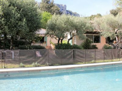 Photo for Detached family villa with private pool and plenty of privacy, 8 km from the sea / beach