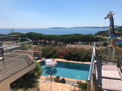 Photo for Luxurious villa at the gulf of Saint-Tropez